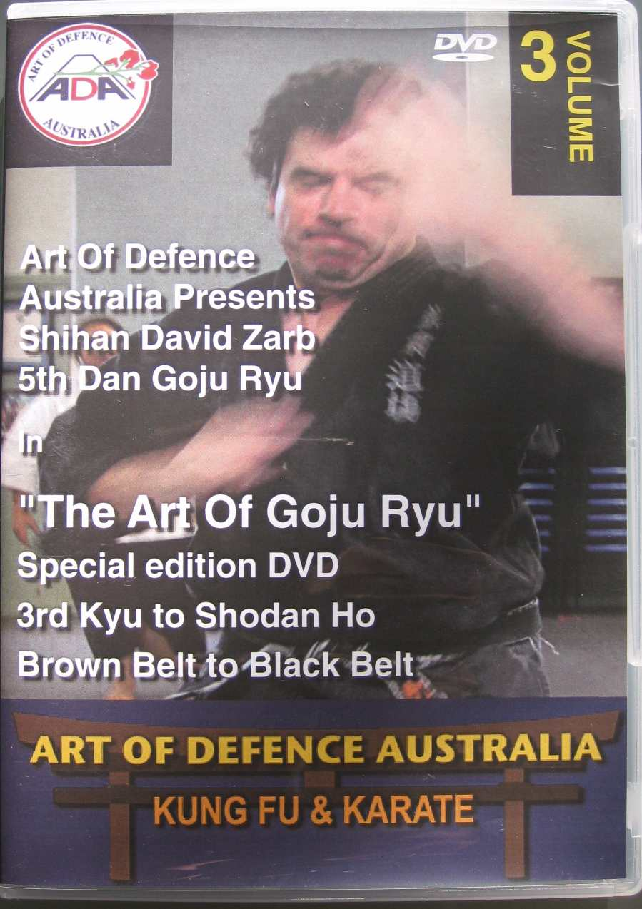 DVD 3: 2nd Kyu to Shodan Ho